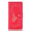 Buy PU Leather Material Gold Butterfly Flower Embossing Pattern Phone Case Huawei P9 Lite/P9/P8 Lite/P8/Y5 II/Honor 5C