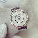 Buy Women's Fashion Watch Casual Quartz Japanese Noctilucent Stainless Steel Band Sparkle Silver Gold Brand
