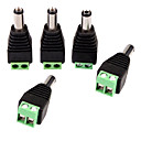 Buy DC Power Male Jack 2 Conductor Screw Connector LED Light Controller