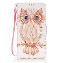 Buy PU Leather Material 3D Painting Shell Owl Pattern Phone Case Huawei P9 Lite