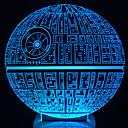 Buy Awakens ! Multi-Colored Death Star Table Lamp 3D Bulbing Light