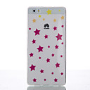 Buy Huawei Case / P8 Lite Ultra-thin Back Cover Geometric Pattern Soft TPU