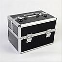 Buy Professional Makeup Bag Lock Box Multilayer Double Door Aluminum Alloy Storage