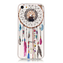 Buy TPU Material + IMD Technology Campanula Pattern Painted Relief Phone Case iPhone 6s Plus / 6 Plus/SE 5s 5/5C