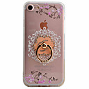 Buy Plum Flower Pattern TPU Material Plus Acrylic Ring Holder Phone Case iPhone 7 7plus 6S 6plus SE 5S
