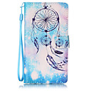 Buy Bule Campanula Pattern PU Leather Lanyard phone Case HuaWei P9 lite