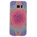 Buy Samsung Galaxy S7 edge S6 Color Lace Pattern TPU High Purity Translucent Soft Phone Case S5 S4 S3