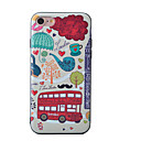 Buy Bus Pattern Painted Three-Dimensional Relief TPU Material Phone Shell iPhone 7 Plus 6