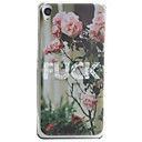 Buy Letter Flower Pattern Material TPU Phone Case Sony Xperia E5 XA
