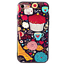 Buy Apple iPhone 7 7Plus 6S 6Plus Case Cover Coffee Pattern TPU Material Painted Relief Phone
