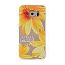 Buy Samsung Galaxy S7Edge S7 S6Edge S6 S5 S4 Case Cover Small Sunflower Painted Pattern TPU Material Phone