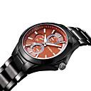 Buy SINOBI Men's Fashion Casual Quartz Movmt Black Band Watches Wrist Watch Cool Unique