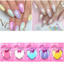 Buy Mermaid Effect Chrome Pigment Powder 10g / bag Laser Silver White Nail Art Miorror Decorations
