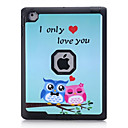 Buy Owl Pattern Colour Printing Water/Dirt/Shock Proof Waterproof Three One IMD Cover Case iPad2 iPad3 iPad4