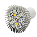 Buy 10W E27 LED Grow Lights 28 SMD 5730 800 lm Warm White UV (Blacklight) Red Blue AC85-265 V