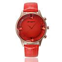Buy Men's Women's Unisex Sport Watch Military Fashion Wrist watch Quartz Genuine Leather Band Vintage Casual Multi-Colored