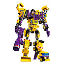 Buy DIY KIT Building Blocks Educational Toy Toys Gift Model & Warrior Robot Forklift Excavating Machinery