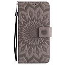 Buy Huawei Mate 9 8 PU Leather Material Sun Flower Pattern Embossed Phone Case 7 P9 Lite P8 Y6 II Y5 Honor 6X 6 7i