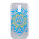 Buy Moto G4 PLUS Double IMD Case Back Cover Datura Flower pattern Soft TPU