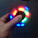 Buy YWXLIGHT® Fidget spinner led Light Spinner Finger ABS EDC Hand Tri Kids Autism ADHD Anxiety Stress Relief Focus