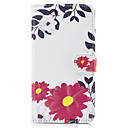 Buy Huawei P10 Lite PU Leather Material Safflower Pattern Painted Phone Case P8 (2017) Honor 6X Nova 8 5C