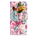 Buy Huawei P10 Lite P8 (2017) PU Leather Material Flower Like Pattern Relief Phone Case Plus P9