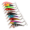Buy 1Hard Bait Minnow Fishing Lures Hard Assorted Colors g/Ounce,57 mm/2-1/4 inch inch,Hard PlasticSea Casting