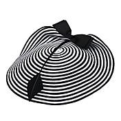 Mujer Pluma Papel Celada-Ocasión especial Casual Al Aire Libre Sombreros