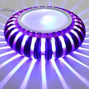 3 집적 LED 모던/콘템포라리 일렉트로플레이티드 특색 for LED 미니 스타일 전구 포함,주변 라이트 벽 빛