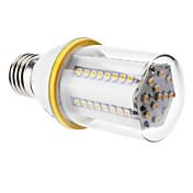 4W E26/E27 Bombillas LED de Mazorca T 60 SMD 3528 480 lm Blanco Cálido AC 100-240 V