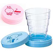 귀여운 휴대용 접이식 망원경 컵 (색상 랜덤)
