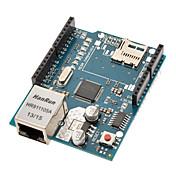 위즈 네트의 W5100 이더넷 칩 / TF 슬롯 이더넷 쉴드 (Arduino를위한)