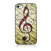Music Note Back Case for iPhone 4/4S
