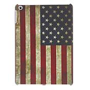 Patrón Estilo Retro bandera americana Caso duro para el iPad Aire