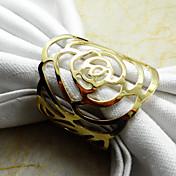 로즈 냅킨 꽂이, 금속
