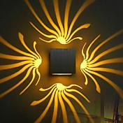 AC 85-265 3W 집적 LED 모던/콘템포라리 일렉트로플레이티드 특색 for LED 전구 포함,주변 라이트 벽 빛