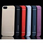Para Funda iPhone 5 Antigolpes Funda Cubierta Trasera Funda Un Color Dura Policarbonato iPhone SE/5s/5