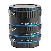 Conjunto de 3 Piezas de Tubo de Extensión Macro para Canon