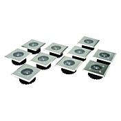 8 스테인리스 백색 LED 스테인리스 태양 갑판 조명 세트
