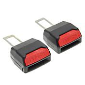 2pcs Car Seat Belt Clip Extender Extensión de hebilla de seguridad