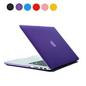 """단색 서리로 덥은 PC 하드 맥북 프로 망막 13 케이스 """"(분류 된 색깔)"""