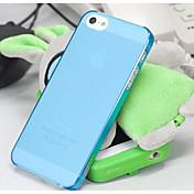 용 아이폰5케이스 반투명 케이스 뒷면 커버 케이스 단색 하드 PC iPhone SE/5s/5