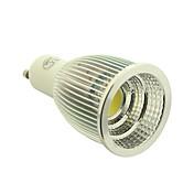 7W GU10 LED 스팟 조명 1 COB 700-770 lm 따뜻한 화이트 / 차가운 화이트 AC 85-265 V