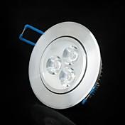 6w 500-550lm 3000-3500K ciepły biały wsparcie ściemniania doprowadziły światła panelu LED lampy sufitowe (220v)