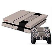 B-skin® PS4 콘솔 보호 스티커 커버 피부 컨트롤러 피부 스티커