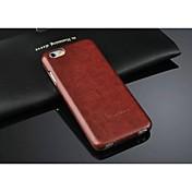 용 아이폰6케이스 / 아이폰6플러스 케이스 플립 케이스 풀 바디 케이스 단색 하드 인조 가죽 iPhone 6s Plus/6 Plus / iPhone 6s/6