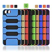 angibabe 2 en 1 tpu + pc teléfono de la contraportada para el iPhone 6 Plus (colores surtidos)
