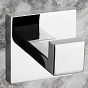 목욕 가운 후크 스테인레스 스틸 벽걸이형 5.5*6.06*5.5cm(2.17*2.39*2.17inch) 스테인레스 스틸 현대