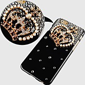 Crystal Diamond Crown Pattern Hard Back Case for iPhone 6 Plus