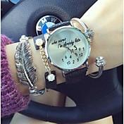여성의 크리스마스 선물은 사랑스러운 여자 섬세한 레저 숙녀 패션 시계 (모듬 색상)를보고